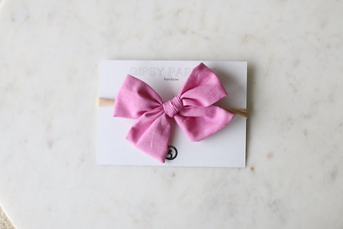 Candy pink Bowtie for boys