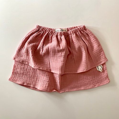 French Rose / Double gauze skirt
