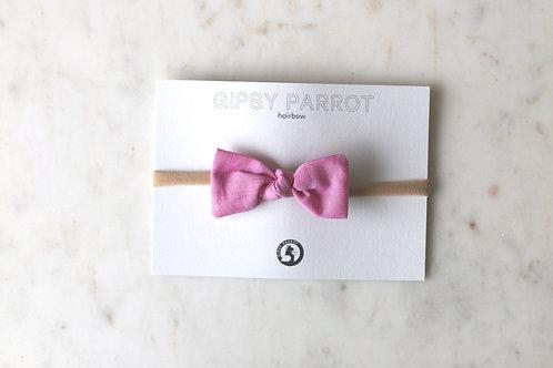 Candy pink baby knot panta