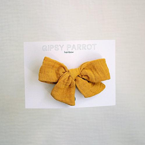 Curry Yellow Rusettipinni