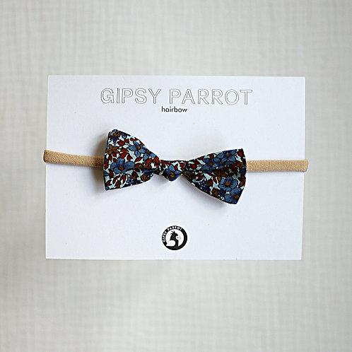 Bohemian Blue Baby knot headband