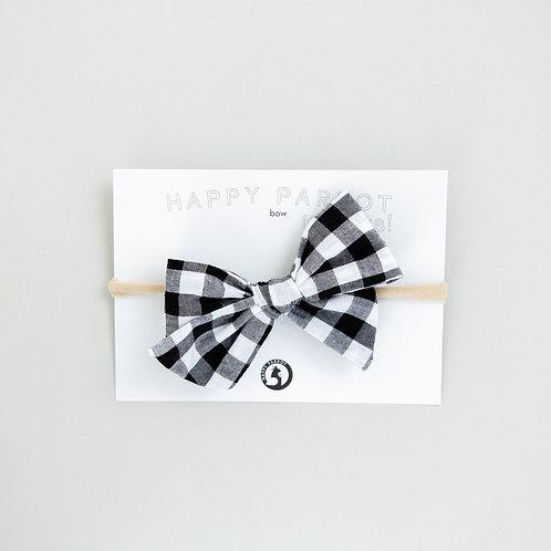 Gingham -BOYS Bow tie