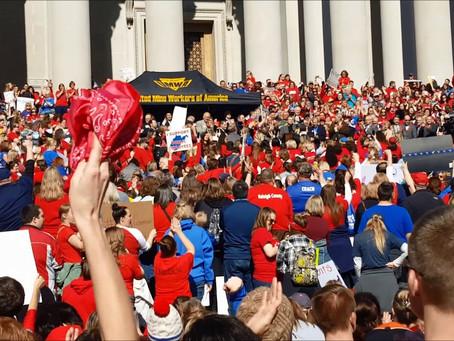 West Virginia Teachers Strike Again!