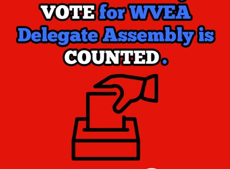How to Make Sure Your Vote Counts: WVEA Election