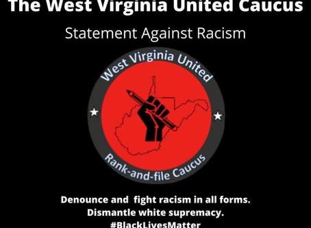 WV United Caucus Statement Against Racism