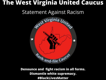 WV United Caucus Statement Against Racism