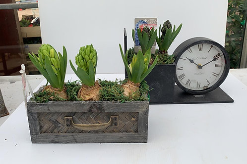Drawer style planter
