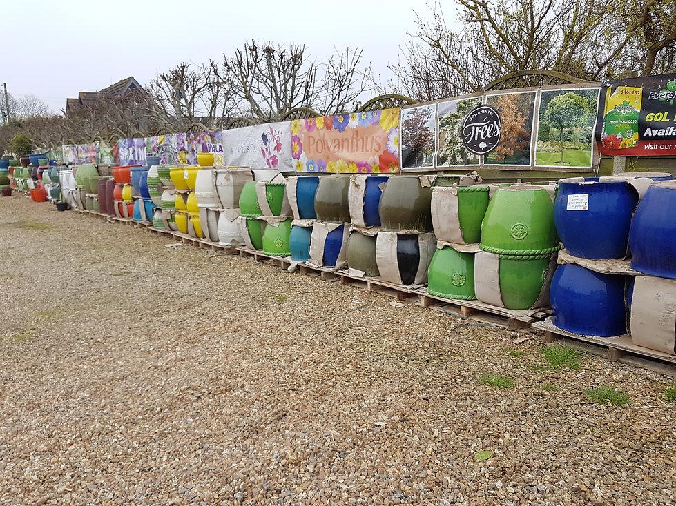 Rainbow of Pots