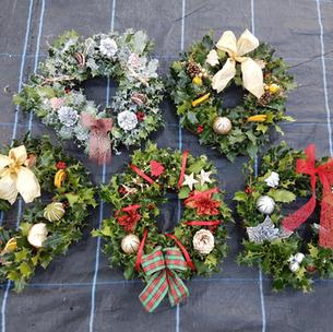 Wreaths - all handmade