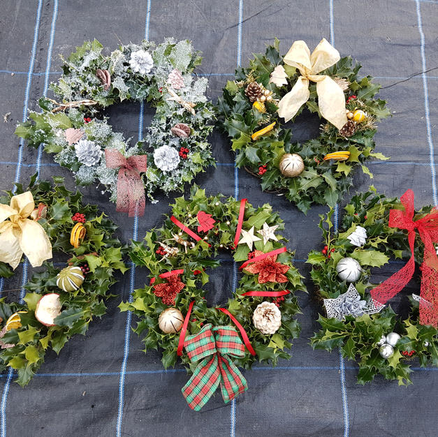 Wreaths - all handmade