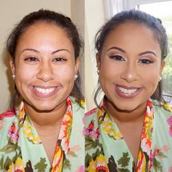 Bridesmaid glam! 😍 Book me for your wedding! 💕#maccosmetics #sephora #makeupforever #miamimakeupar
