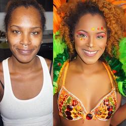 Book me for carnival ladies! 😘#miami #makeupforblackwomen #wedding #melanin #melaninpoppin #blackgi