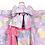 Thumbnail: 作り帯 7歳用  単品唐猫牡丹