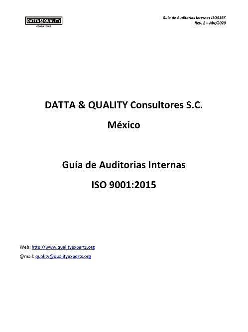 Guía de Auditorias Internas ISO 9001:2015