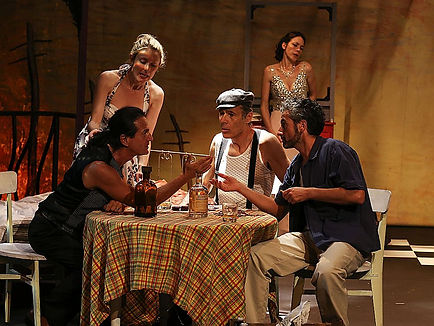 The Big Funk Company, plays original Tennessee Wiliams, A streetcar named desire, in France