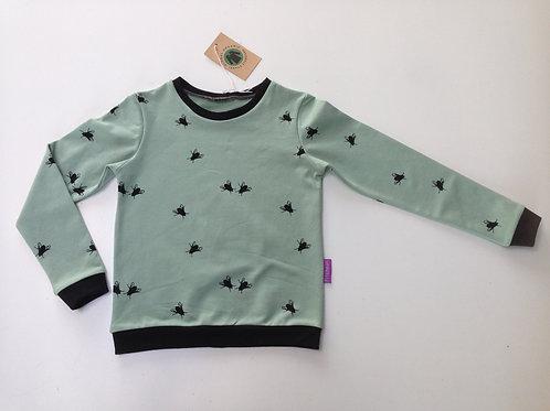 Sweater vliegen Chat Chocolat maat 116