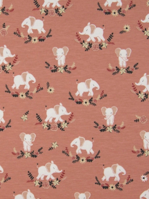 Tricot olifant oudroze
