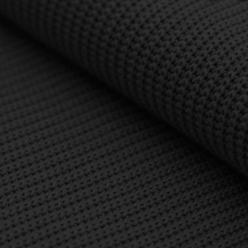 Big knit katoen zwart