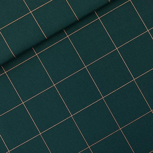 SYAS - canvas - thin grid green gables