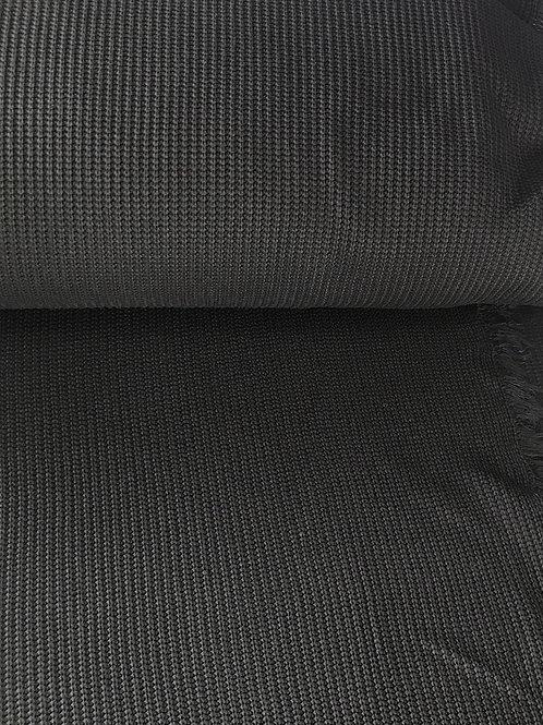 Katoen gebreid zwart
