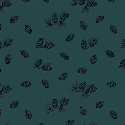 Bloome Copenhagen Pine Cones petrol