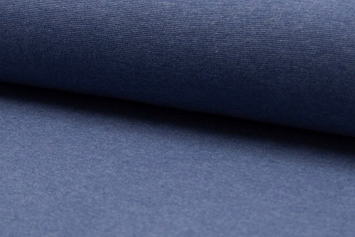 Boordstof melange jeans licht
