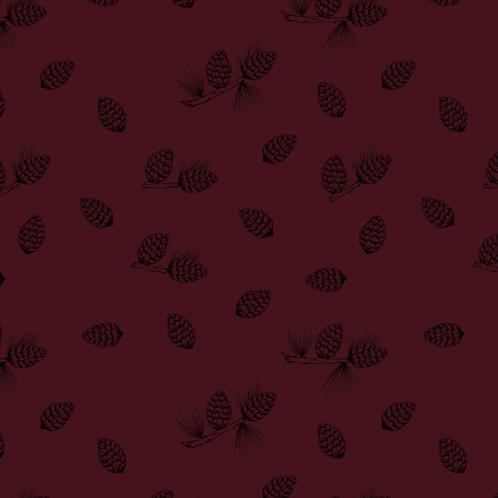 Bloome Copenhagen Pine Cones bordeaux