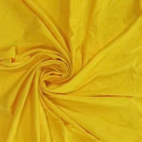 Bamboe jersey geel GOTS