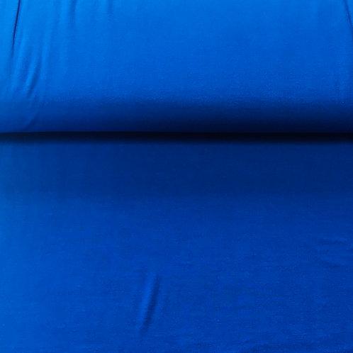 Bamboe jersey kobalt GOTS