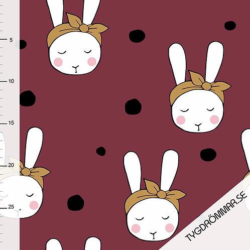 Tygdrömmar tricot bunny GOTS
