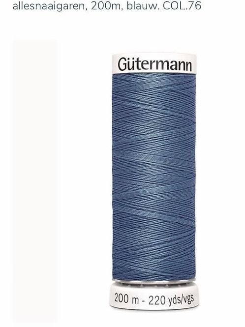 Garen kleur 76 blauw