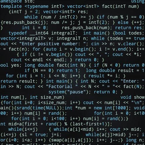 Katoentricot - computer