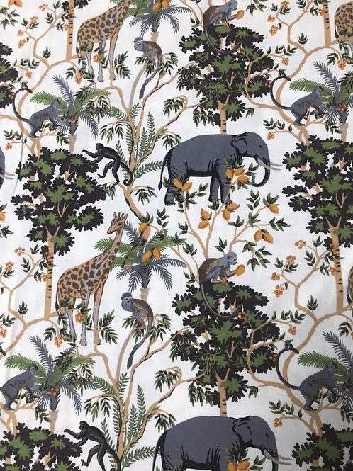 Tricot jungle off-white