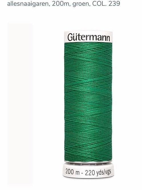Garen kleur 239 groen