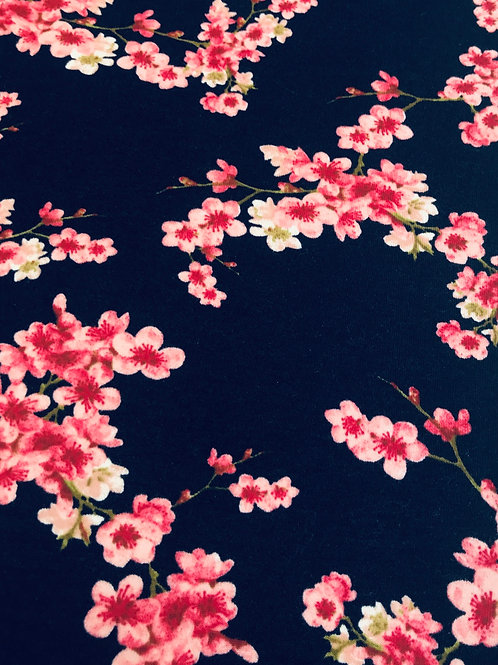 Poppy soft sweat blossom GOTS