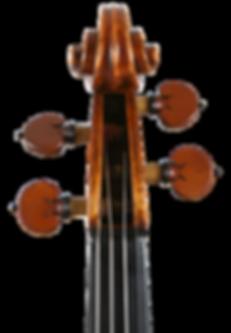 Tête de violon verticale