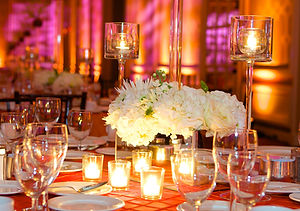 Beautiful Wedding Reception table design