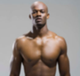 Bodybuilder with acne-free body which cleared completely with the best body, back and chest acne treatment from Face Reality and My Perfect Skin Clinic