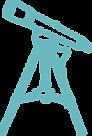 Assistindo a ciência com um telescópio