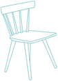 chair vector graphic