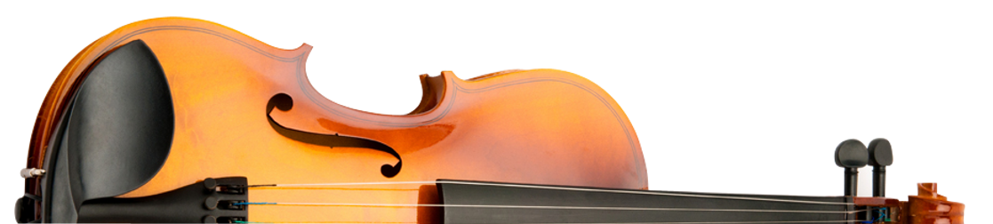 Demi violon couché
