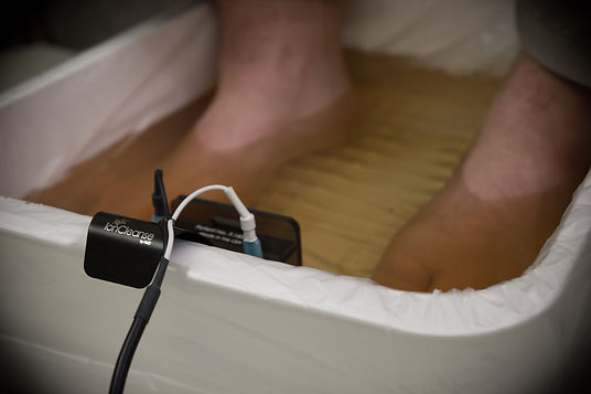 Ionic Foot Bath Detox