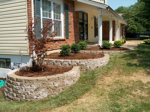 Retaining Wall - Fresh Start Outdoors