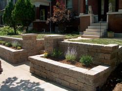 Fresh Start Outdoors Retaining Wall