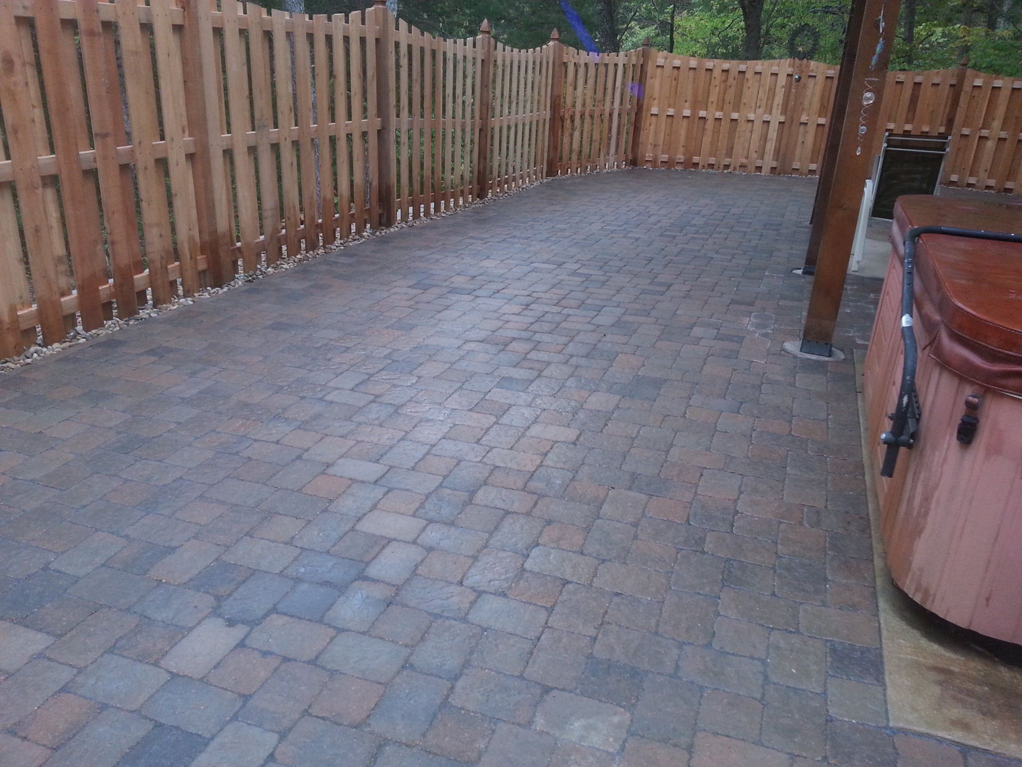Fresh Start Outdoors Paver Patio