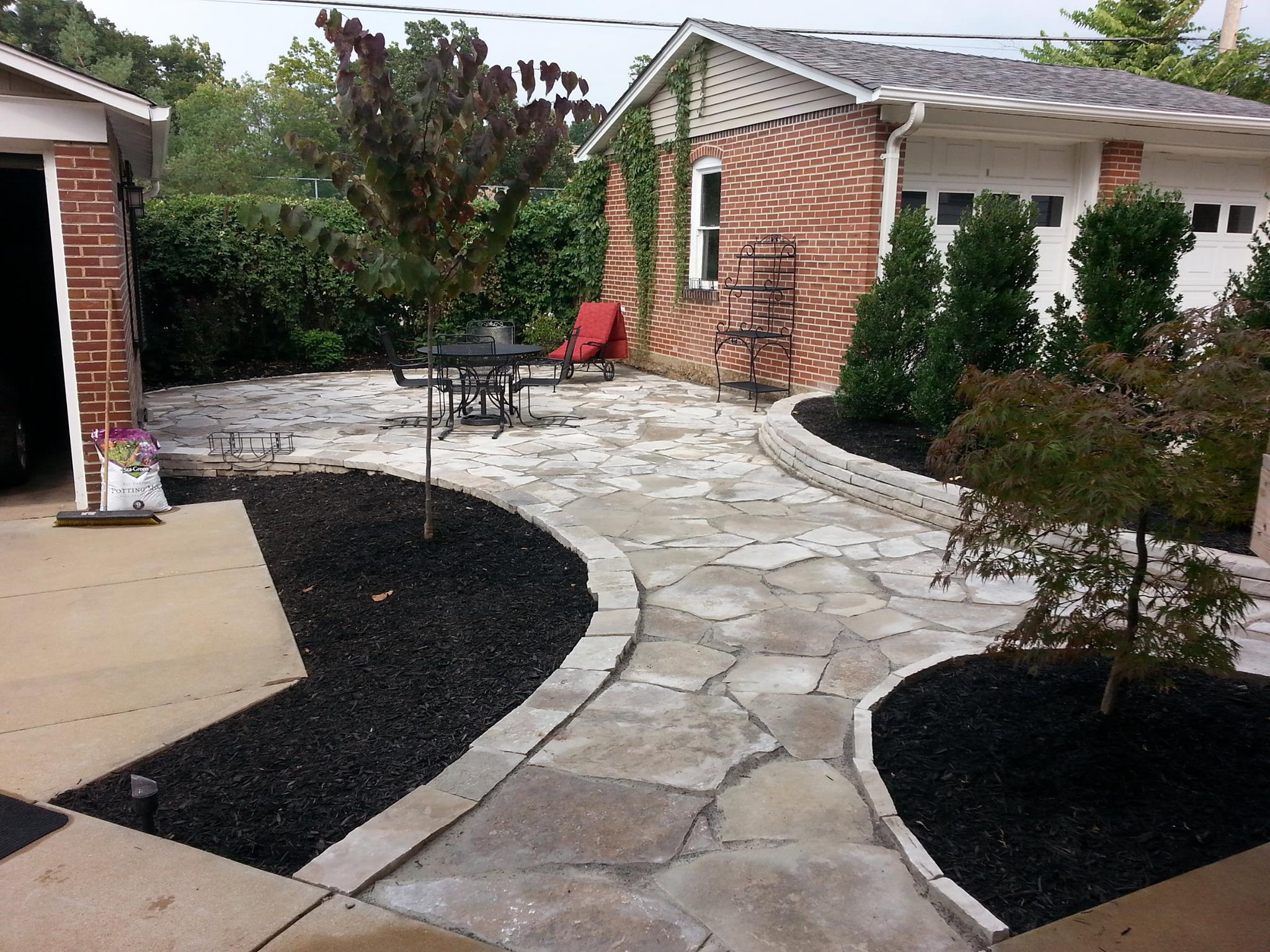 Fresh Start Outdoors Flagstone Patio