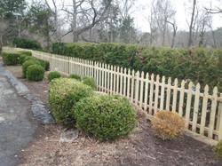 Fresh Start Outdoors Fence