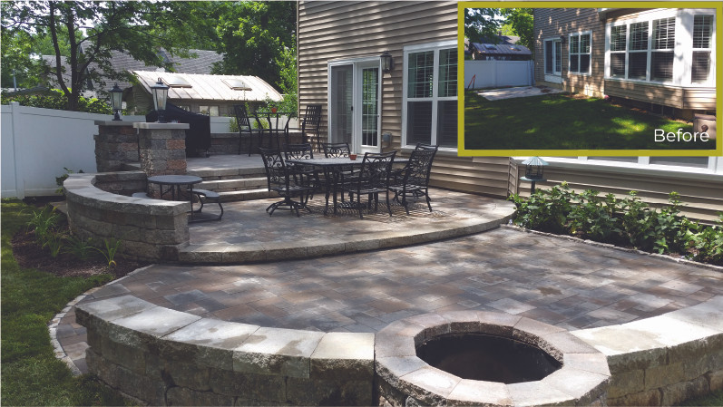 Large Patio and Outdoor Living Space