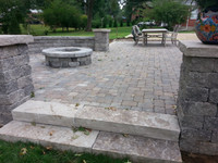 cobble patio timberwood blend WEATHERED.
