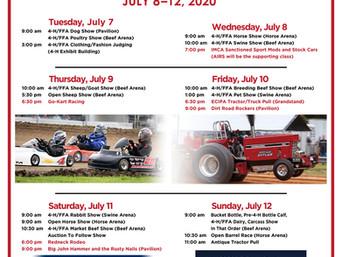 2020 Cedar County Fair